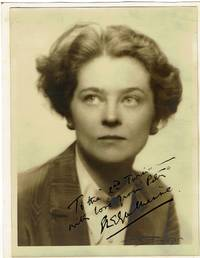 image of Eva Le Gallienne Signed and Inscribed Photograph.