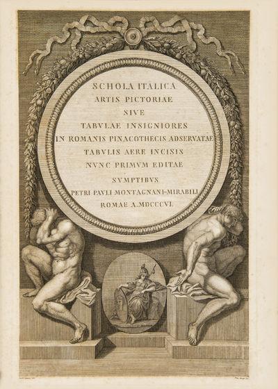 Schola Italica artis Pictoriae sive...