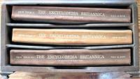 image of The Encyclopaedia Britannica: The Thirteenth Edition. Three Supplementary Volumes in the Custom Wooden Case