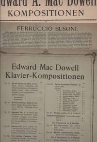 SONATA TRAGICA Opus 45, Nr. 1 in Gmoll. Klavier Kompositionen [and] Burlesque Opus 46, Nr. 7