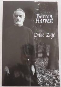 Barren Harvest:  Selected Poems  (Inscribed by Translator)