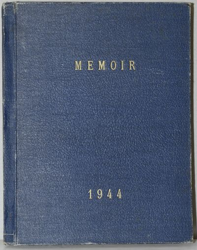 Richmond: The Senior Class, 1944. First Edition. Hard Cover. Good binding. A copy of the 1944 Manche...