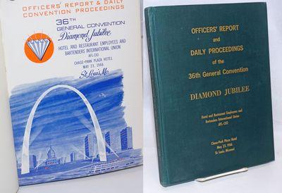 Cincinnati: the Union, 1966. 255p., 8.5x11 inches, ortiginal wraps bound into green boards with gilt...
