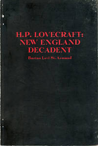 H. P. LOVECRAFT: NEW ENGLAND DECADENT ..