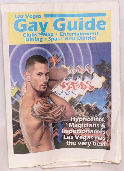 Las Vegas, NV: Las Vegas Night Beat, 2011. Newspaper. 16p. folded tabloid newspaper, LGBTQ entertain...