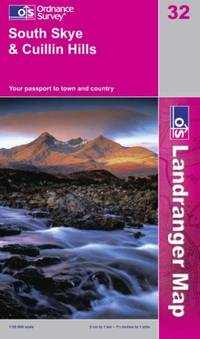 South Skye and Cuillin Hills (Landranger Maps)