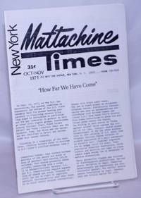 image of New York Mattachine Times: Oct-Nov 1971: How Far We Have Come