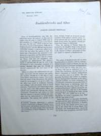 Buddenbrooks and After by  1975-1955  Thomas - Paperback - Signed - from The Owl at the Bridge (SKU: 47357)