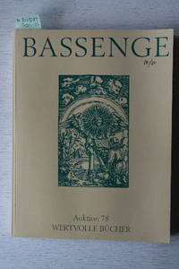 Auktion 78, 10.-12 Oktober 2001: Wertvolle Bücher. Literatur Und  Buchillustration Des 17.-19. Jahrhunderts, Kinderbücher, Philosophie,  Autographen  ...