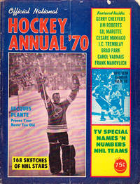 Official National Hockey Annual '70 by  Charlie; et al Halpin - 1970 - from BOOX and Biblio.com