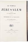 View Image 4 of 5 for Le Temple de Jérusalem Monographie du Haram-Ech-Chérif suivie d'un essai sur la topographie de la ... Inventory #39724