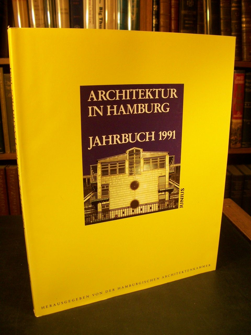 architektur in hamburg jahrbuch 1991 by hamburgischen architektenkammer paperback 1991. Black Bedroom Furniture Sets. Home Design Ideas