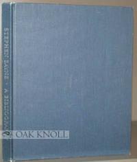 N.P.: (Lucie C. Bayne, 1978. cloth. Bayne, Stephen. tall 8vo. cloth. (vi), 129, (5) pages. A bibliog...
