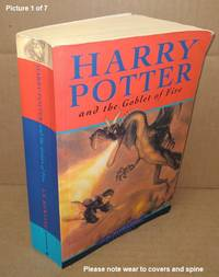 image of HARRY POTTER AND THE GOBLET OF FIRE [SIGNED]