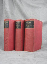 T. Macci Plavti Comoediae, 7 volumes in 3 books, Latin with English translations