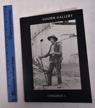 Washington, DC: Sander Gallery, 1979. Softcover. VG-. Shelf wear to covers, front cover slightly bow...