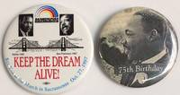 Keep the dream alive! See you at the March in Sacramento Oct. 27, 1997 [pinback button]