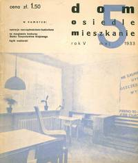 image of Dom, osiedle, mieszkanie: kwartalnik [Home, housing estate, cooperative apartment: a quarterly]. Group of sixteen early issues: 1929 (1, 7); 1931 (4-8, 11-12); 1933 (2-5, 9-11)