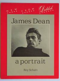 "image of Publisher's Counter Display Poster for ""James Dean a Portrait ; New from Delilah"