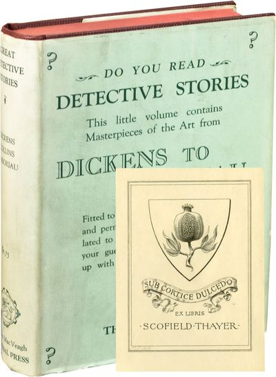 New York: Lincoln MacVeagh / The Dial Press, 1924. First Edition. First Edition. 16mo., sextodecimo....