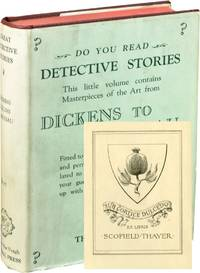 image of Great Detective Stories, Volume Two: From Dicks to Gaboriau (First Edition, Scofield Thayer's copy)