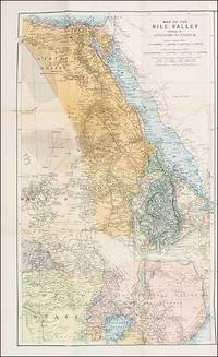 Philips Special Map of the Nile, The Advance on Khartum and the Environs of Omdurman. Cc1900