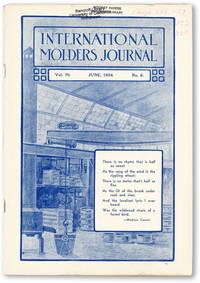 International Molders Journal. Vol. 70 no.6  (June, 1934)