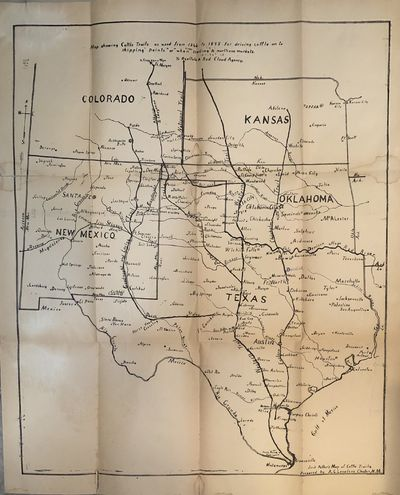 """Clayton, New Mexico, the Leader Publishing Company, 1935. First Edition. Signed by Author. 8vo 8"""" -..."""