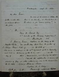 Fine three-page Autograph Letter Signed by  Isham L LEE - Signed - 1862 - from Argosy Book Store and Biblio.com
