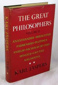 The Great Philosophers, Volume 2: The Original Thinkers