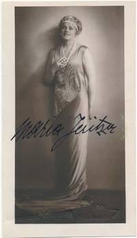 Photograph Signed by  Maria (1887-1984) JERITZA - Signed - from Main Street Fine Books & Manuscripts, ABAA (SKU: 26008)