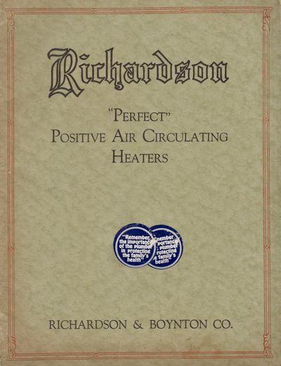 New York: Richardson & Boyton Co, n.d.. Soft cover. Good. Stapled soft cover. Approx. 10.5