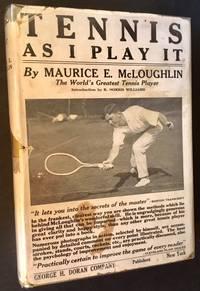 Tennis As I Play It (In Dustjacket)