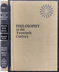 Philosophy in the Twentieth Century. An Anthology. Volume Two (2) Only by  William and Henry D. Aiken Barrett - First Edition - from Gail's Books and Biblio.com