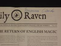 Daily Raven: The Official Paper of Record to Jonathan Strange and Mr Norrell [SIGNED]