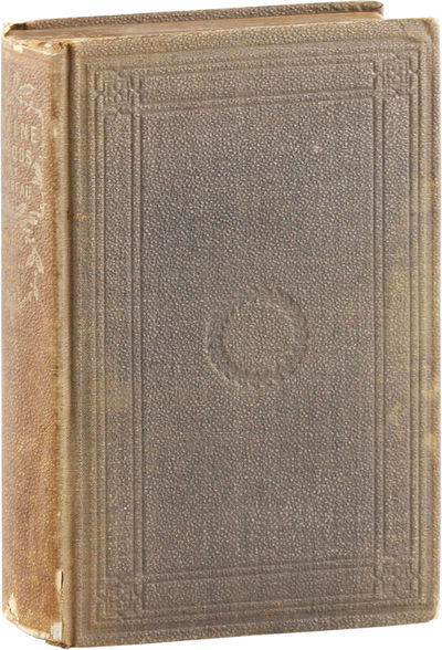 Boston: Ticknor and Fields, 1864. First Edition. First printing, with priced list of Thoreau's works...
