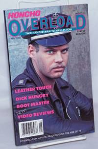 image of Honcho Overload: two handed man to man action, photo-illustrated; vol. 6 #1, May 1991: Leather Touch