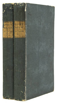 Journal of a Residence and Tour in the Republic of Mexico in the year 1826. With some Account of the Mines of that Country