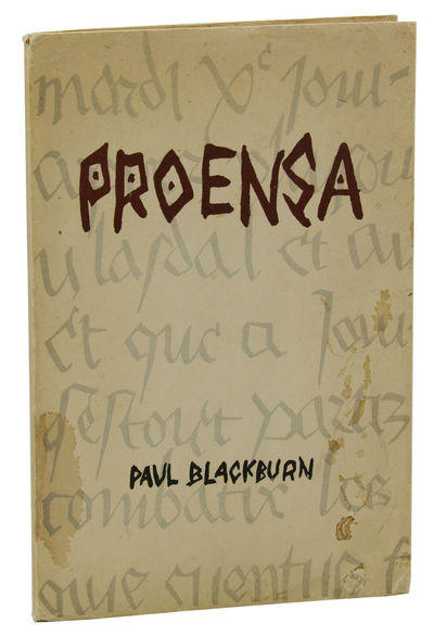Palma de Mallorca, Spain: Divers Press, 1953. First Edition. First edition. Unpaginated. Original wr...