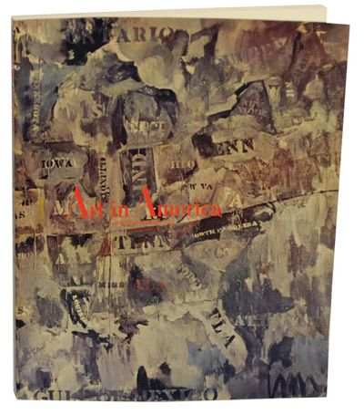New York: Art in America Inc, 1965. Softcover. August/September 1965. 144 pages. Cover designed by J...