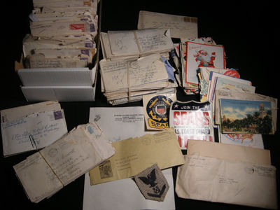 Williamsport, Pennsylvania: Not Published, 1943. Over 300 individual pieces of correspondence, sent ...