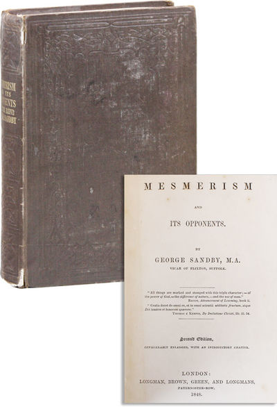 London: Longmans, Green and Co, 1848. Second Edition. 12mo (19cm). Publisher's blind-stamped cloth o...