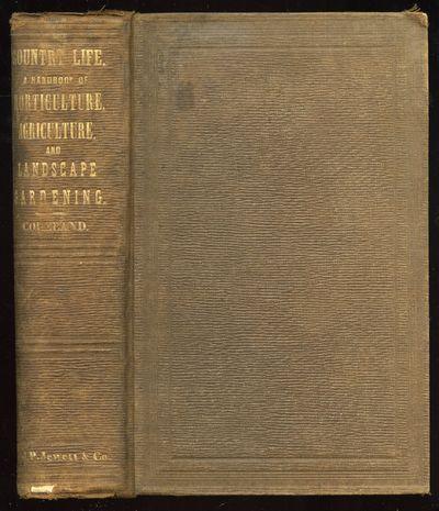 Boston: John P. Jewett and Company, 1859. Hardcover. Very Good. First edition. Thick octavo. x, 813p...