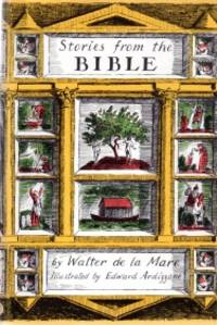 STORIES FROM THE BIBLE by Walter De la Mare - Hardcover - 1961 - from Harry E Bagley Books Ltd and Biblio.com
