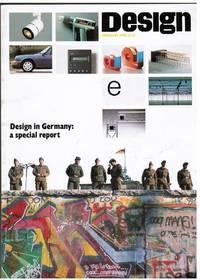 image of DESIGN MAGAZINE: DESIGN IN GERMANY