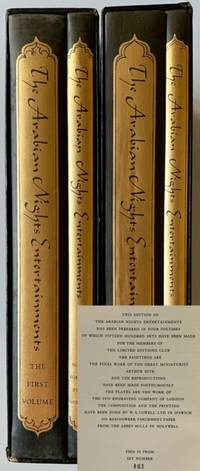 The Arabian Nights Entertainments (4 Books in 2 Separate Volumes)
