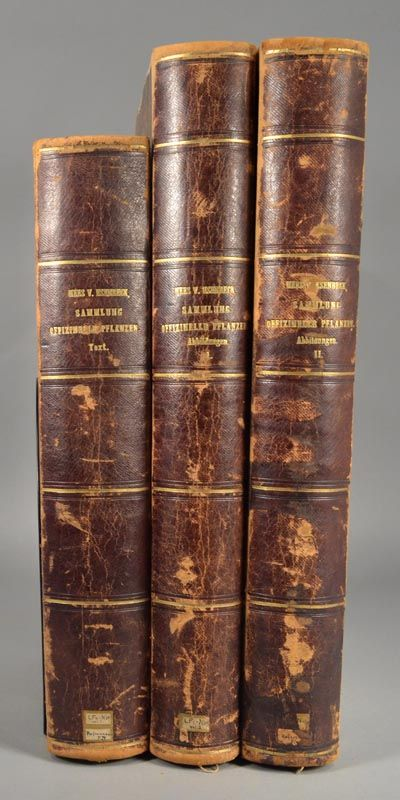 1828. ENRY, Aime. NEES VON ESENBECK, Theodor Friedrich Ludwig. PLANTAE OFFICINALIS oder Sammlung Off...