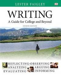 image of Writing: A Guide for College and Beyond Plus MyWritingLab with Pearson eText -- Access Card Package (4th Edition)