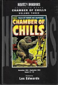 image of CHAMBER OF CHILLS Collected Works Volume Three (3), FNovember, Nov. 1952 - September, Sept. 1953, Issues 14-19