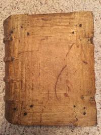 Biblia Sacra Veteris Et Novi Testamenti Secundum Editonem Vulgatam  Summa Totius Sacre Scripture Librorum Videlicet Veteris & Novi Testamenti Witteberge Excudebat Laurentius Seuberlich Original 1602 Edition